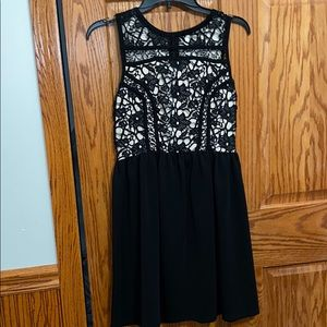 Black lace dress. Size Small. Worn Once.
